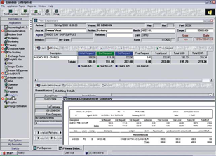 Port Expenses Software